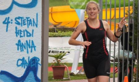 Triathlon Finish