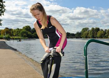 Trigirl Triathlon Einteiler fuer Frauen