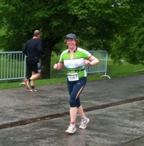 Erster Triathlon - Laufen