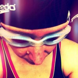 Erster Triathlon - Schwimmen