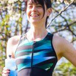 Trigirl Triathlonanzug grün