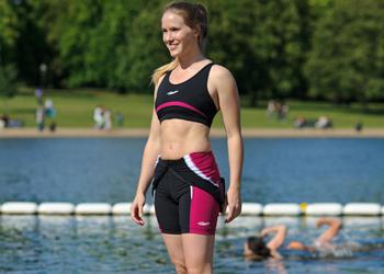 Trigirl Triathlon Anzug mit Bustier