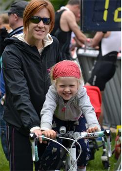 Mutter sein und Triathlon trainieren