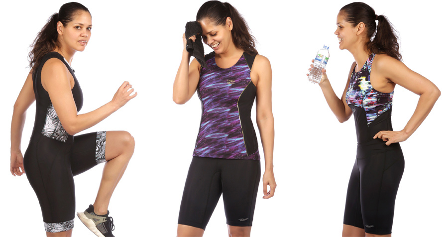 Triathlonbekleidung fuer Frauen