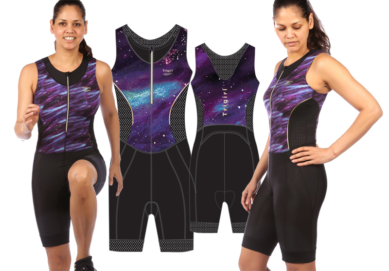 Trigirl active wear design Birgit Brandt